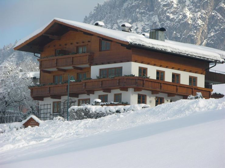 Haus Seeblick Thiersee im Winter
